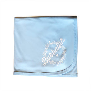 Sky Blue Bubbalah Blanket