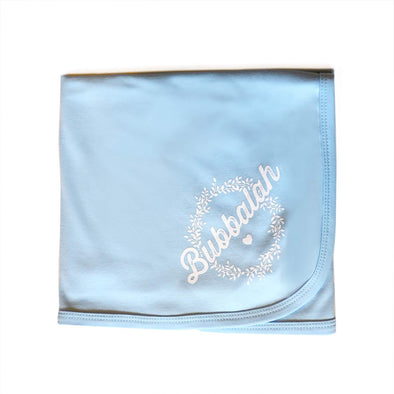 Sky Blue Bubbalah Blanket - ModernTribe