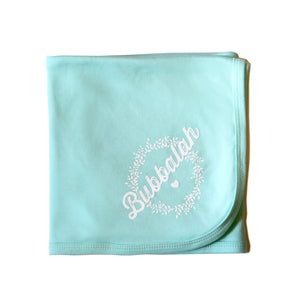 Mint Green Bubbalah Blanket