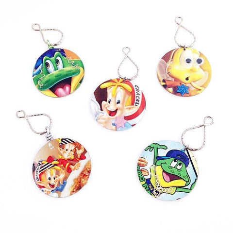 Jewified Cereal Character Key Chains by Marcy Levinson by Marcy Levinson - ModernTribe