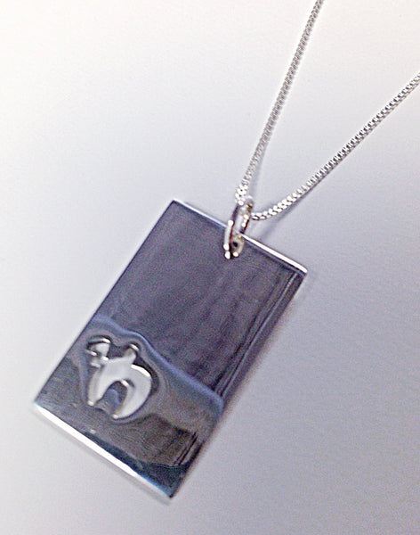 Other Necklaces Default Chai Dog Tag Necklace