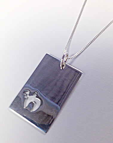 Chai Dog Tag Necklace by Other - ModernTribe