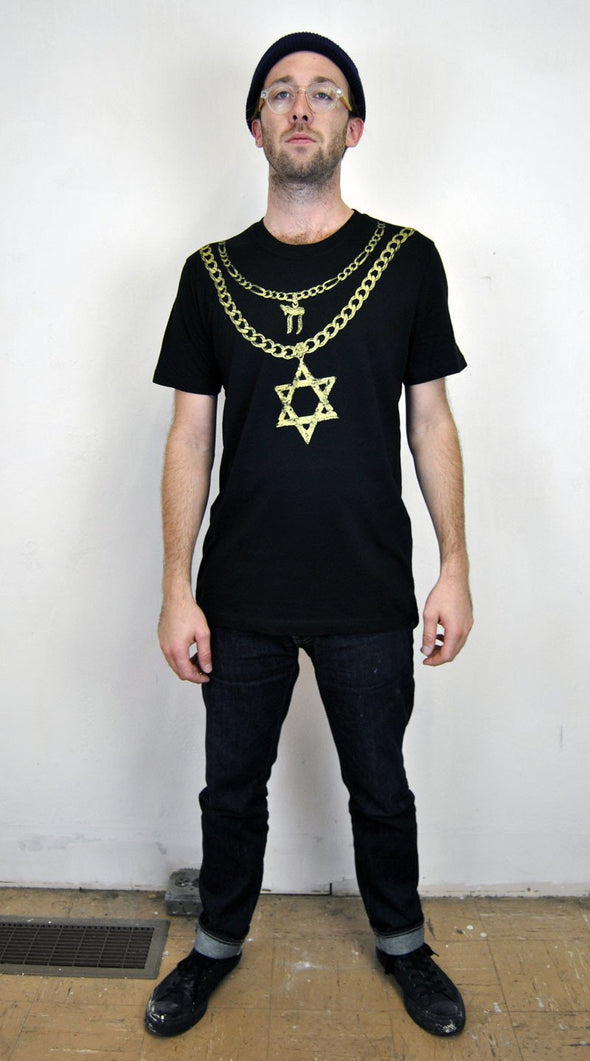 Jew Chainz T-Shirt by Other - ModernTribe - 3