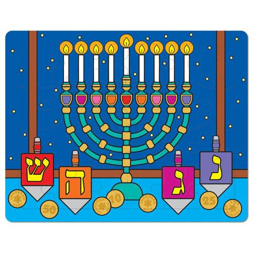 Chanukah Puzzle - Ages 3+ - ModernTribe