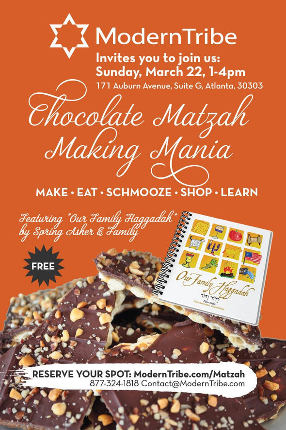 Free Ticket to Chocolate Covered Matzah Mania Event - Sunday, March 22 - ModernTribe
