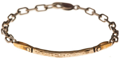 Curved Bar Bracelet in Bronze by Marla Studio - ModernTribe