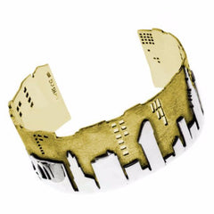 New York City Skyline Bracelet Cuff by Cynthia Gale GeoArt - ModernTribe - 1