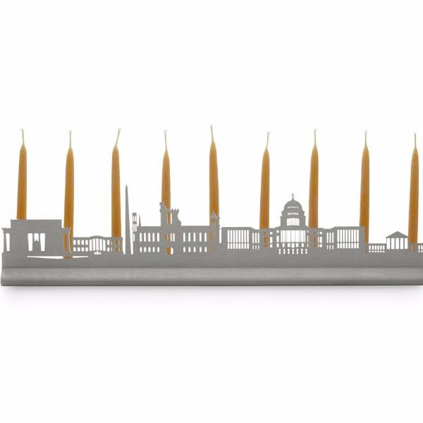 Valerie Atkisson Menorah Washington DC Skyline Menorah