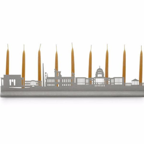 Washington DC Skyline Menorah by Valerie Atkisson - ModernTribe