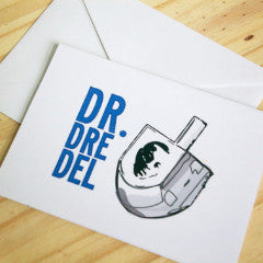 Dr. Dre-Del Greeting Card by Silly Reggie - ModernTribe - 1