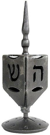 Blackthorne Forge Dreidel Default Iron Dreidel by Blackthorne Forge