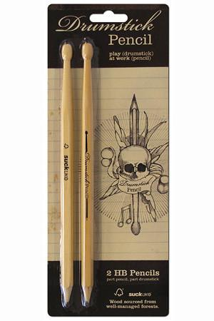 Drum Stick Pencils | Set of Two by Suck UK - ModernTribe - 1