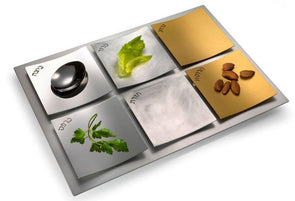 Dune Seder Plate - Mixed Metals by Laura Cowan - ModernTribe - 1