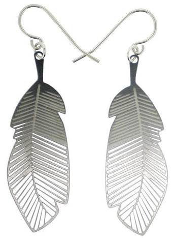 Polli Feather Earrings by Polli - ModernTribe - 1