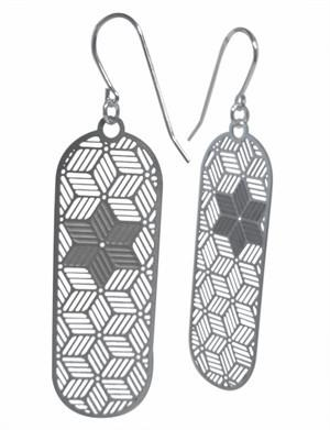 Stella Stellar Star of David Earrings by Polli - ModernTribe