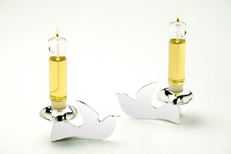 Elegant Doves Candleholder by Other - ModernTribe