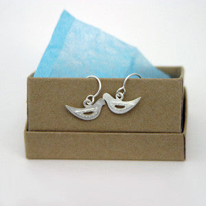 Emily Rosenfeld Sterling Silver Dove Earrings by Emily Rosenfeld - ModernTribe - 2