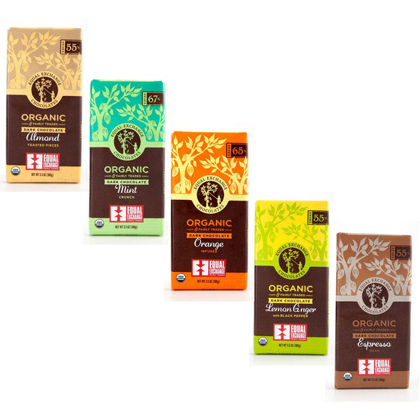 Equal Exchange Fair Trade Kosher For Passover* Chocolate Bars - ModernTribe