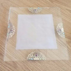 Filigree Challah Board by Anat Mayer