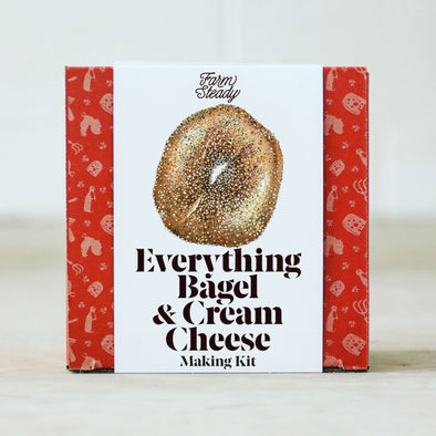 Farm Steady Food Default Everything Bagel and Cream Cheese Making Kit