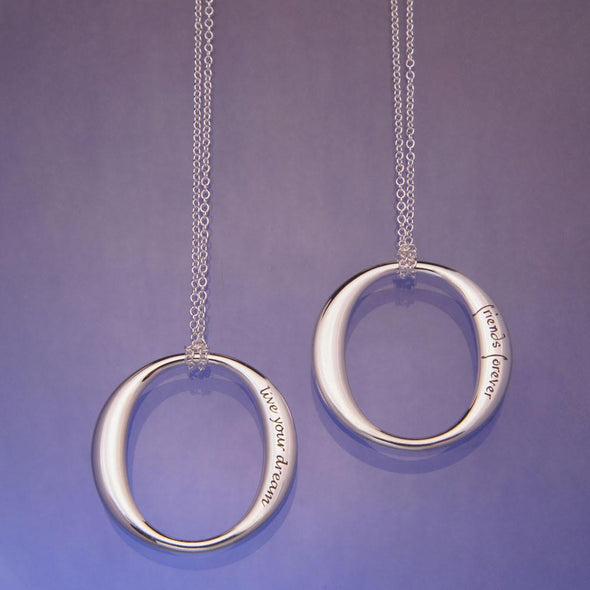 Friends Forever, Forever Friends Sterling Silver Necklace - ModernTribe