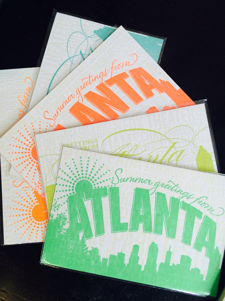 Atlanta Postcard by Concrete Lace - ModernTribe