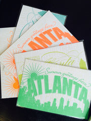 Atlanta Postcard by Concrete Lace by Concrete Lace - ModernTribe