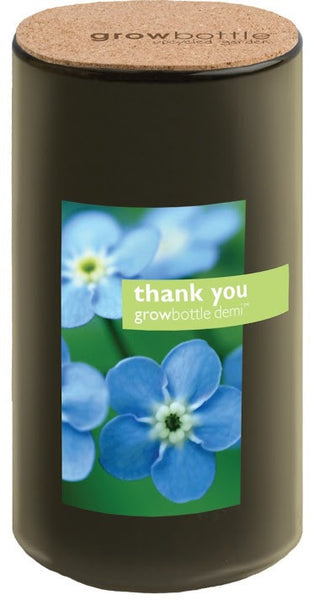 "Pottingshed Creations Plant Forget-Me-Nots ""Thank You"": Growbottle"