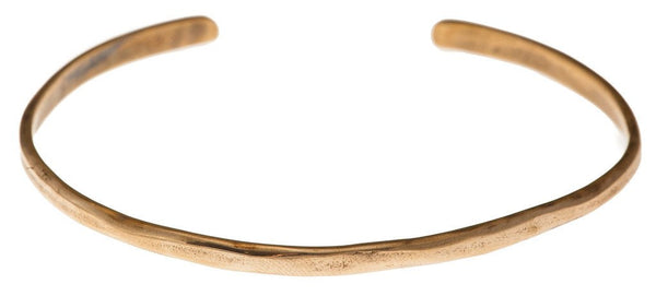 "Marla Studio Bracelets Bronze ""Gather Paradise"" Cuff Bracelet in Bronze - Emily Dickinson ""I Dwell in Possibility"" by Marla Studio"