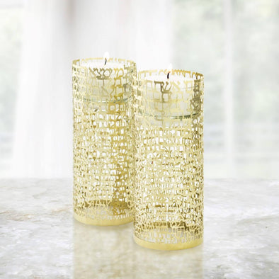 Woman of Valor Candleholders - Gold - ModernTribe