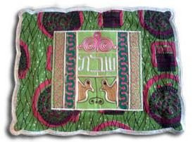 Challah Cover by Sefi Wiawso in Ghana by Other - ModernTribe - 1