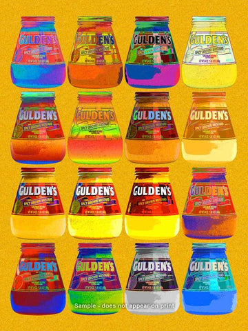Gulden's Mustard Pop Art Print by Murray Eisner - ModernTribe