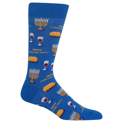 Men's Happy Challah Days Crew Socks