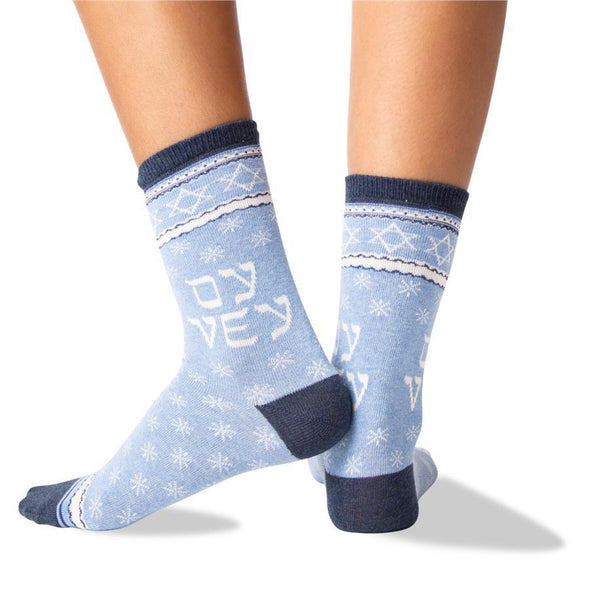 Women's Oy Vey Star Crew Socks