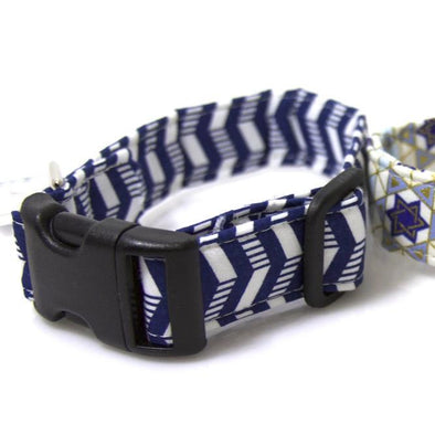 Hanukkah Pet Collars by ChuckleHound - ModernTribe - 4