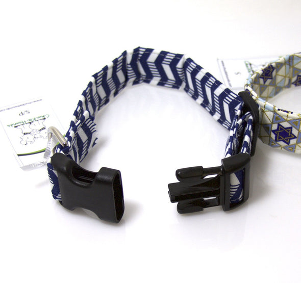 Hanukkah Pet Collars by ChuckleHound - ModernTribe - 2