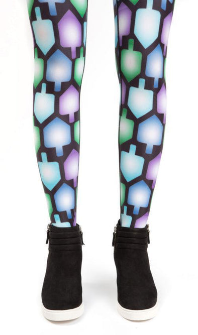 Adult Dreidel Leggings - ModernTribe