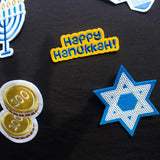Instant Ugly Hanukkah Sweater Kit/Pins