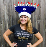 Merry Jew Year's Eve-ukkah T-Shirt For Women