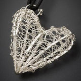 Uncommon Threads Crocheted Heart Pendant by Uncommon Threads - ModernTribe - 2