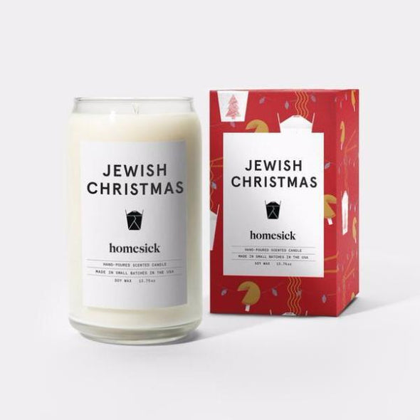 Jewish Christmas Candle by Homesick