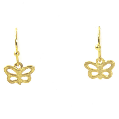 Tiny Butterfly Earrings by Throwing Stars Jewelry - ModernTribe - 1