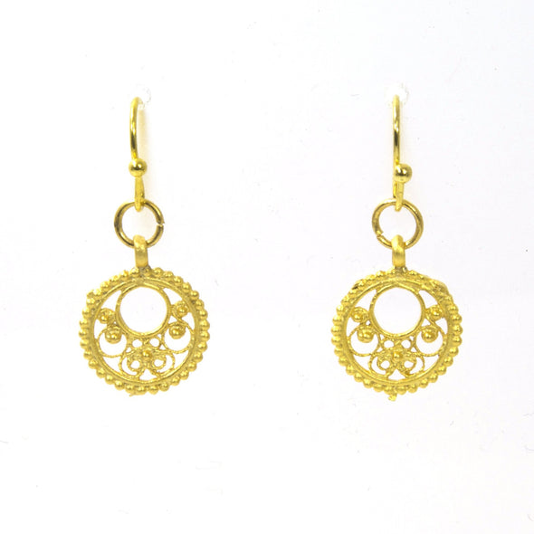 Small Circles of Lace Earrings - ModernTribe