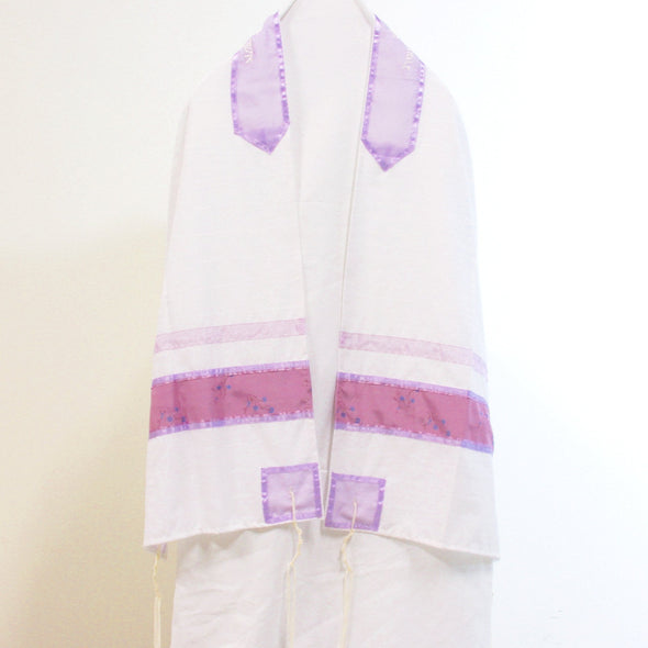 Handmade Tallit Set in Purple - ModernTribe