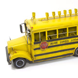 Antique Metal School Bus Menorah by Copa Judaica - ModernTribe - 1