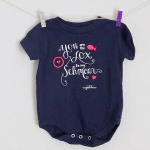 You Are the Lox to My Schmear Baby Onesie