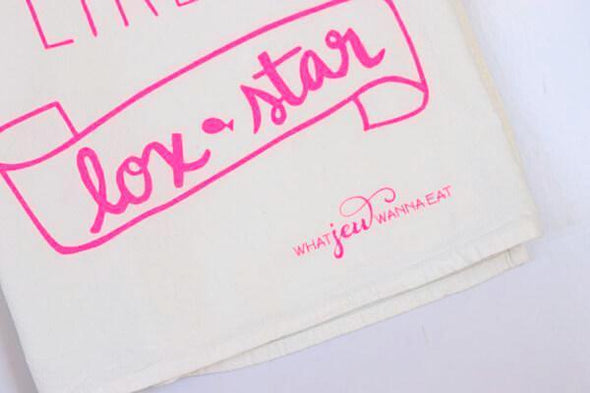 Party Like A Lox Star Towel - Hot Pink - ModernTribe