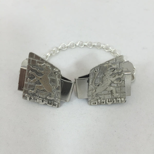 Agam Tallit Clips Lion of Judah Tallis Clips
