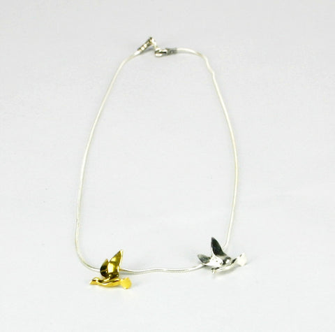 Peace Dove Necklace by Anat Basanta by Anat Basanta - ModernTribe - 1