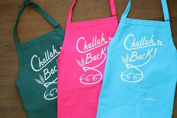 Challah Back Apron - Light Blue